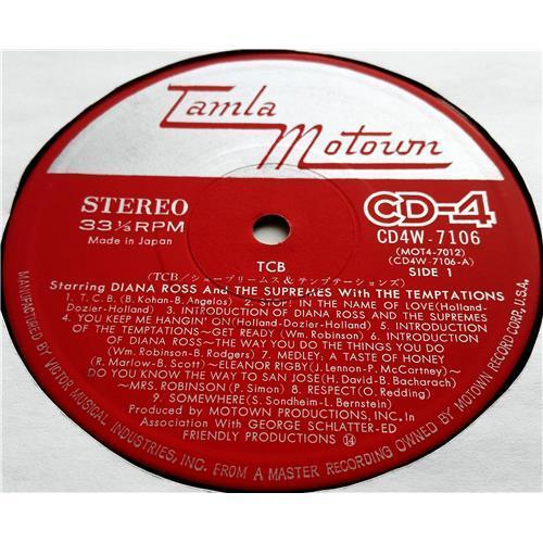 Картинка  Виниловые пластинки  Diana Ross And The Supremes With The Temptations – TCB* *Takin' Care Of Business / CD4W-7106 в  Vinyl Play магазин LP и CD   07465 6
