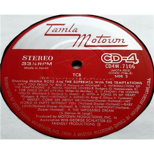 Картинка  Виниловые пластинки  Diana Ross And The Supremes With The Temptations – TCB* *Takin' Care Of Business / CD4W-7106 в  Vinyl Play магазин LP и CD   07465 7