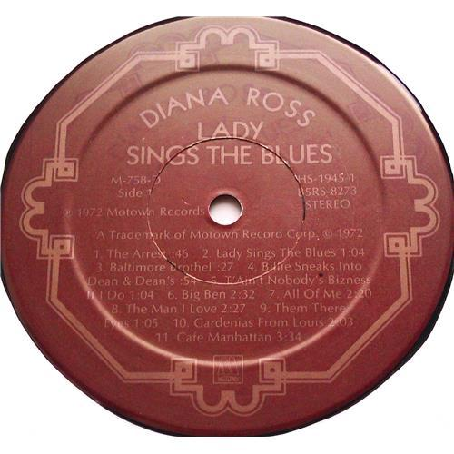 Картинка  Виниловые пластинки  Diana Ross – Lady Sings The Blues (Original Motion Picture Soundtrack) / M-758-D в  Vinyl Play магазин LP и CD   06248 5