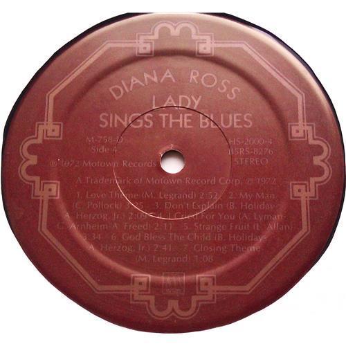 Картинка  Виниловые пластинки  Diana Ross – Lady Sings The Blues (Original Motion Picture Soundtrack) / M-758-D в  Vinyl Play магазин LP и CD   06248 8