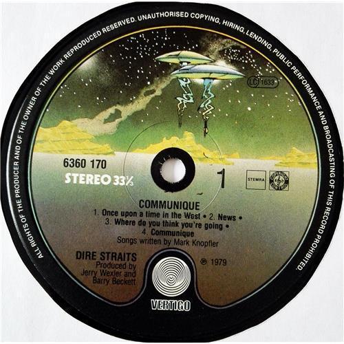Картинка  Виниловые пластинки  Dire Straits – Communique / 6360 170 в  Vinyl Play магазин LP и CD   08680 4