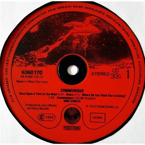 Картинка  Виниловые пластинки  Dire Straits – Communique / 6360 170 в  Vinyl Play магазин LP и CD   08681 4
