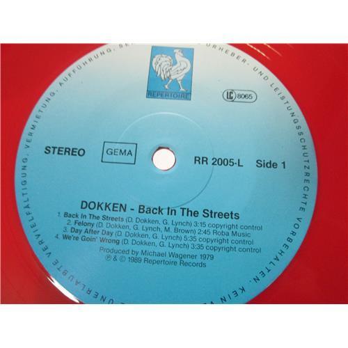 Картинка  Виниловые пластинки  Dokken – Back In The Streets / RR 2005-L в  Vinyl Play магазин LP и CD   00970 2