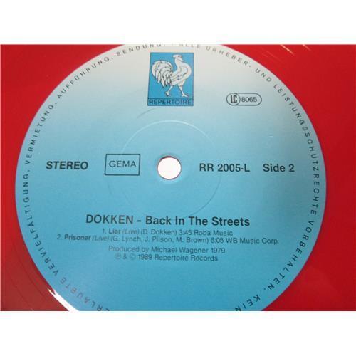 Картинка  Виниловые пластинки  Dokken – Back In The Streets / RR 2005-L в  Vinyl Play магазин LP и CD   00970 3