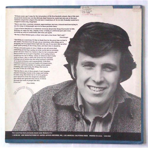Картинка  Виниловые пластинки  Don McLean – Tapestry / UAS-5522 в  Vinyl Play магазин LP и CD   04723 1