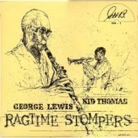 George Lewis / Kid Thomas – Ragtime Stompers / GHB-5