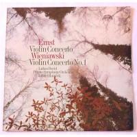 Heinrich Wilhelm Ernst, Henryk Wieniawski – Violin Concerto / Violin Concerto No. 1 / 1110 1837