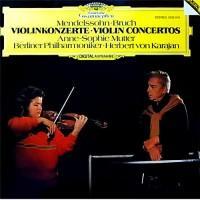 Herbert Von Karajan, Anne-Sophie Mutter – Violinkonzerte - Mendelssohn - Bruch / 28MG0184