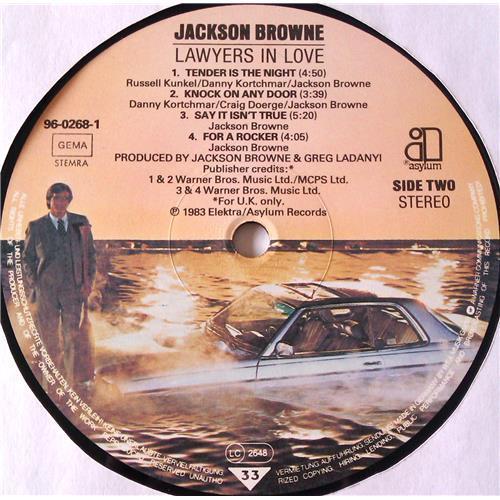 Картинка  Виниловые пластинки  Jackson Browne – Lawyers In Love / 96-0268-1 в  Vinyl Play магазин LP и CD   06539 4