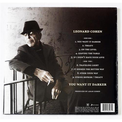 Картинка  Виниловые пластинки  Leonard Cohen – You Want It Darker / 88985365071 / Sealed в  Vinyl Play магазин LP и CD   09071 1