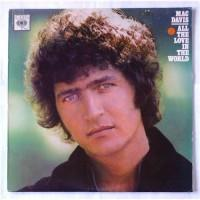 Mac Davis – All The Love In The World / PC 32927