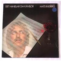 Mats Radberg – Det Handlar Om Kanslor / 2379 175