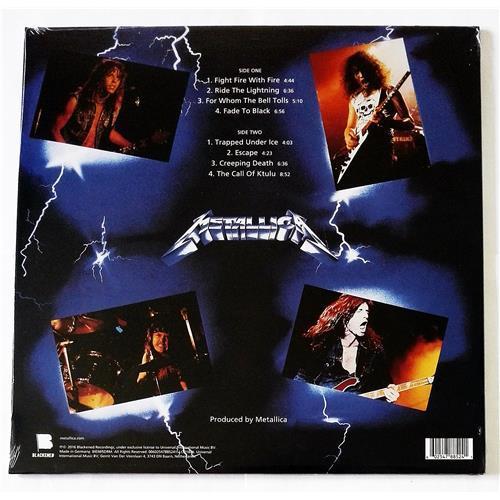 Картинка  Виниловые пластинки  Metallica – Ride The Lightning / 00602547885241 / Sealed в  Vinyl Play магазин LP и CD   09269 1