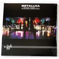Metallica With Michael Kamen Conducting The San Francisco Symphony Orchestra – S & M / BLCKND015-1 / Sealed