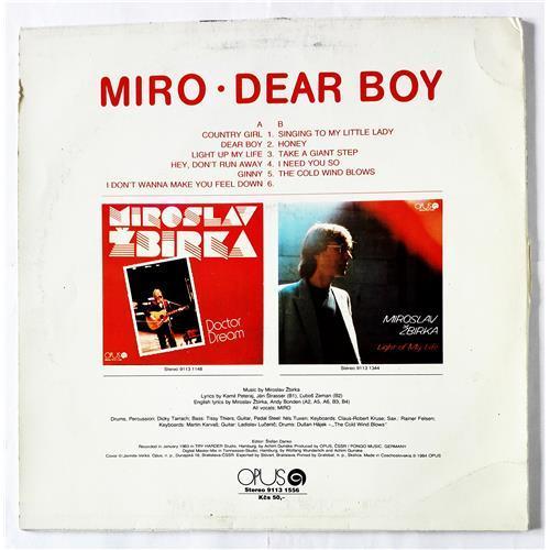 Картинка  Виниловые пластинки  Miroslav Zbirka – Dear Boy / 9113 1556 в  Vinyl Play магазин LP и CD   08992 1