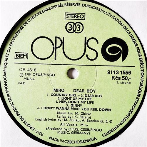 Картинка  Виниловые пластинки  Miroslav Zbirka – Dear Boy / 9113 1556 в  Vinyl Play магазин LP и CD   08992 2
