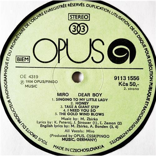 Картинка  Виниловые пластинки  Miroslav Zbirka – Dear Boy / 9113 1556 в  Vinyl Play магазин LP и CD   08992 3