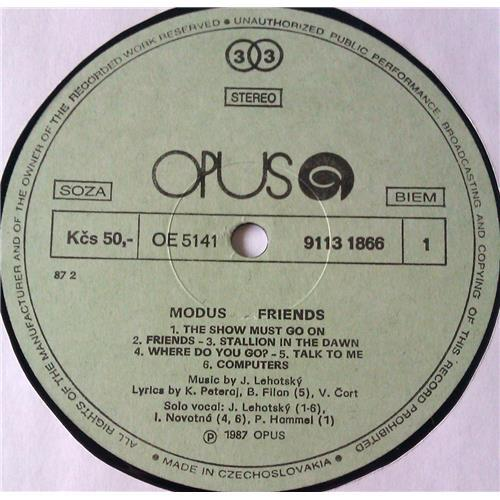 Картинка  Виниловые пластинки  Modus – Friends / 9113 1866 в  Vinyl Play магазин LP и CD   05887 2