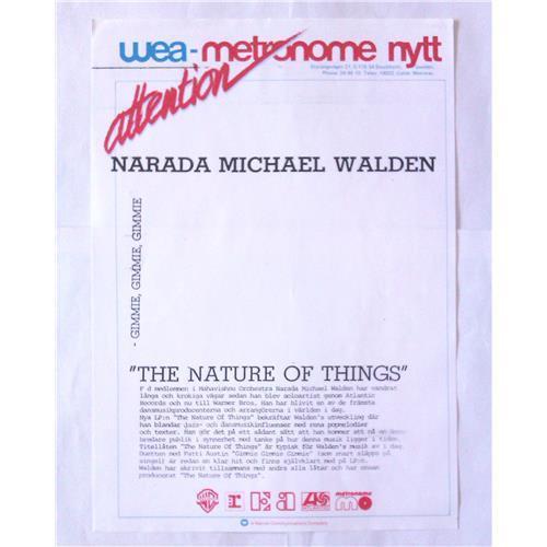 Картинка  Виниловые пластинки  Narada Michael Walden – The Nature Of Things / 925 176-1 в  Vinyl Play магазин LP и CD   06936 2