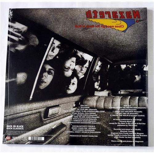 Картинка  Виниловые пластинки  Nazareth – Close Enough For Rock 'N' Roll / RCV108LP / Sealed в  Vinyl Play магазин LP и CD   08516 1