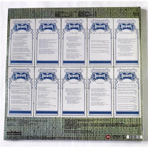 Картинка  Виниловые пластинки  Nazareth – Exercises / RCV107LP / Sealed в  Vinyl Play магазин LP и CD   08521 1