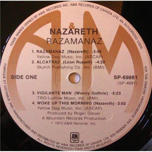Картинка  Виниловые пластинки  Nazareth – Razamanaz / SP-69861 в  Vinyl Play магазин LP и CD   03973 2
