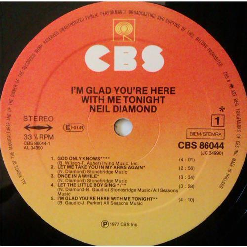 Картинка  Виниловые пластинки  Neil Diamond – I'm Glad You're Here With Me Tonight / CBS 86044 в  Vinyl Play магазин LP и CD   04374 4