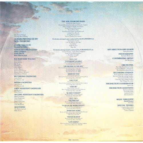 Картинка  Виниловые пластинки  Neil Diamond – On The Way To The Sky / TC 37628 в  Vinyl Play магазин LP и CD   00277 2
