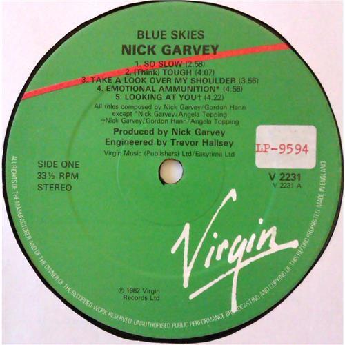 Картинка  Виниловые пластинки  Nick Garvey – Blue Skies / V 2231 в  Vinyl Play магазин LP и CD   04696 2