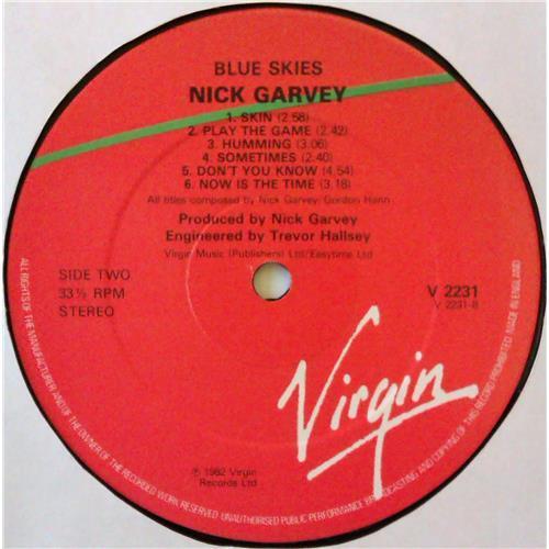 Картинка  Виниловые пластинки  Nick Garvey – Blue Skies / V 2231 в  Vinyl Play магазин LP и CD   04696 3