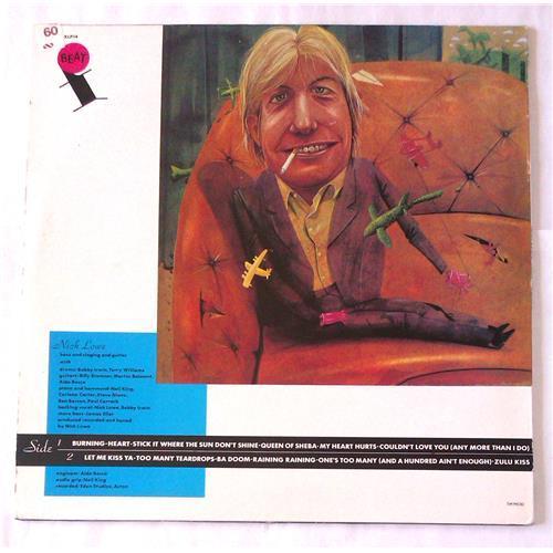 Картинка  Виниловые пластинки  Nick Lowe – Nick The Knife / XXLP 14 в  Vinyl Play магазин LP и CD   06721 1