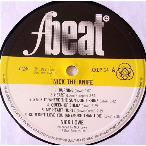 Картинка  Виниловые пластинки  Nick Lowe – Nick The Knife / XXLP 14 в  Vinyl Play магазин LP и CD   06721 2