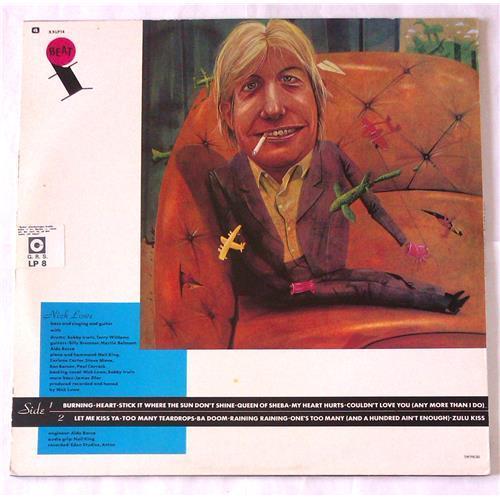 Картинка  Виниловые пластинки  Nick Lowe – Nick The Knife / XXLP 14 в  Vinyl Play магазин LP и CD   06722 1