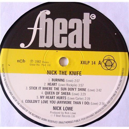 Картинка  Виниловые пластинки  Nick Lowe – Nick The Knife / XXLP 14 в  Vinyl Play магазин LP и CD   06722 2