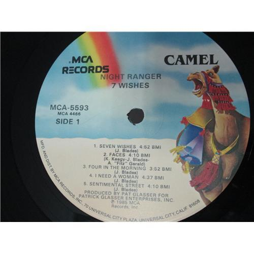 Картинка  Виниловые пластинки  Night Ranger – 7 Wishes / MCA-5593 в  Vinyl Play магазин LP и CD   00506 4