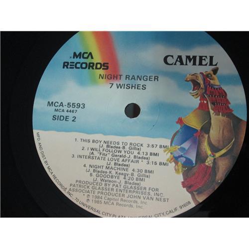 Картинка  Виниловые пластинки  Night Ranger – 7 Wishes / MCA-5593 в  Vinyl Play магазин LP и CD   00506 5