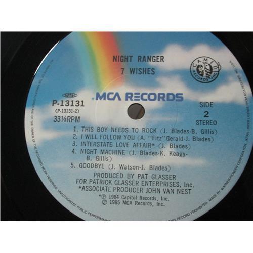 Картинка  Виниловые пластинки  Night Ranger – 7 Wishes / P-13131 в  Vinyl Play магазин LP и CD   00279 3