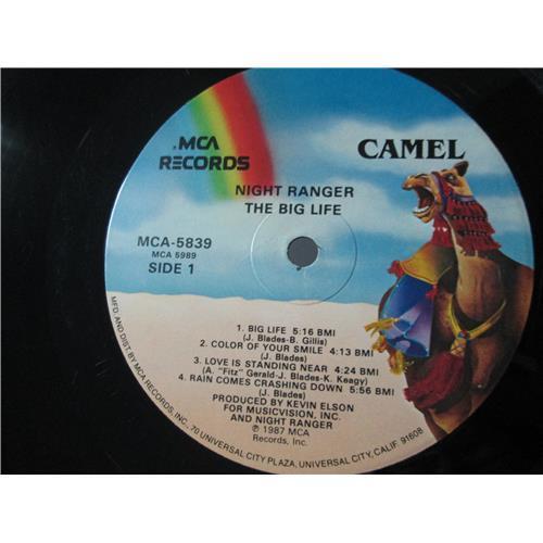 Картинка  Виниловые пластинки  Night Ranger – Big Life / MCA-5839 в  Vinyl Play магазин LP и CD   01553 2