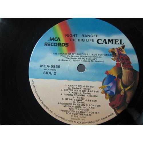 Картинка  Виниловые пластинки  Night Ranger – Big Life / MCA-5839 в  Vinyl Play магазин LP и CD   01553 3