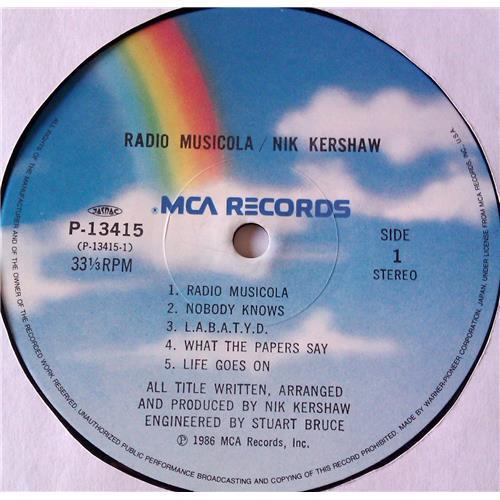 Картинка  Виниловые пластинки  Nik Kershaw – Radio Musicola / P-13415 в  Vinyl Play магазин LP и CD   06803 4