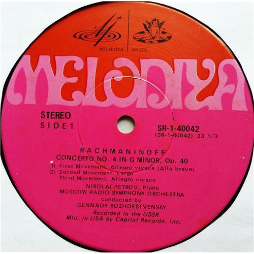 Картинка  Виниловые пластинки  Nikolai Petrov – Rachmaninoff: Concerto No. 4, Prokofiev: Concerto No. 3 / SR-40042 в  Vinyl Play магазин LP и CD   07529 2