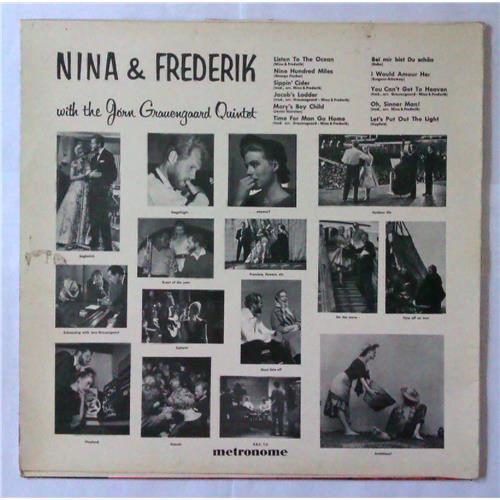 Картинка  Виниловые пластинки  Nina & Frederik With The Jorn Grauengaard Quintet – Nina & Frederik With The Jorn Grauengaard Quintet / HLP 10.047 в  Vinyl Play магазин LP и CD   04308 1