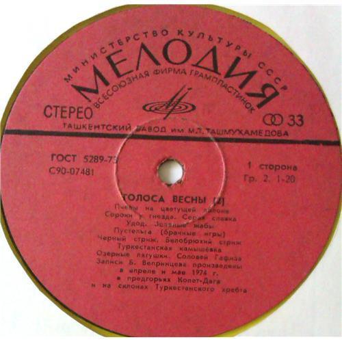 Картинка  Виниловые пластинки  No Artist – Голоса Весны (2) / С90-07481-2 в  Vinyl Play магазин LP и CD   05601 2