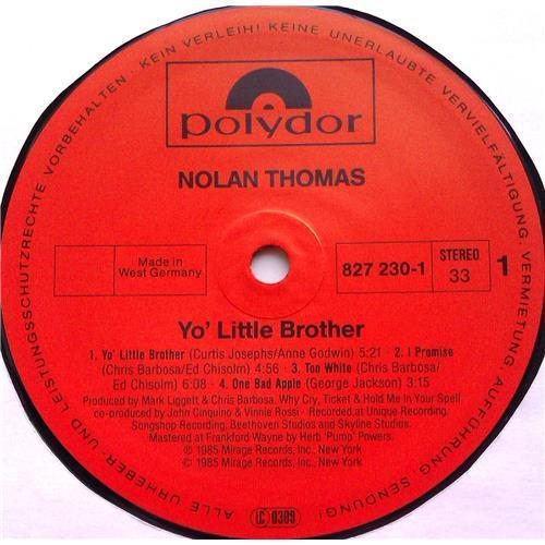 Картинка  Виниловые пластинки  Nolan Thomas – Yo' Little Brother / 827 230-1 в  Vinyl Play магазин LP и CD   06398 2