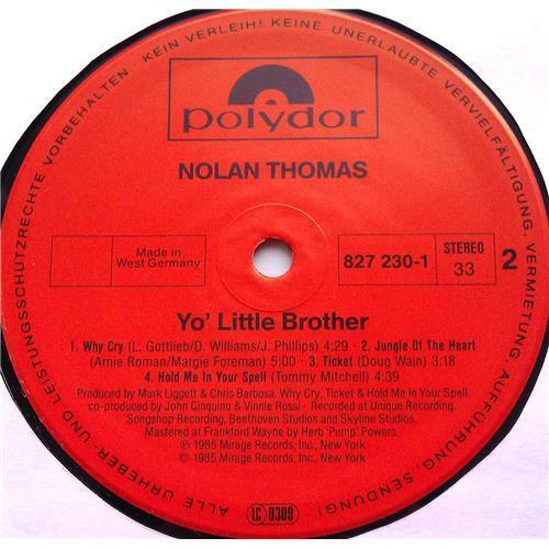 Картинка  Виниловые пластинки  Nolan Thomas – Yo' Little Brother / 827 230-1 в  Vinyl Play магазин LP и CD   06398 3