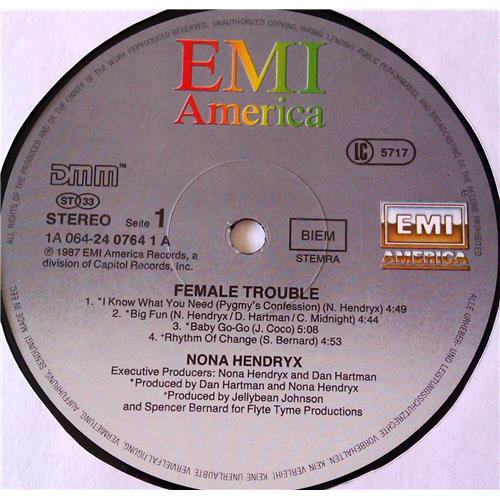 Картинка  Виниловые пластинки  Nona Hendryx – Female Trouble / 24 0764-1 в  Vinyl Play магазин LP и CD   06978 4
