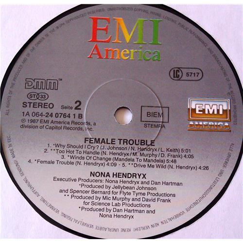 Картинка  Виниловые пластинки  Nona Hendryx – Female Trouble / 24 0764-1 в  Vinyl Play магазин LP и CD   06978 5