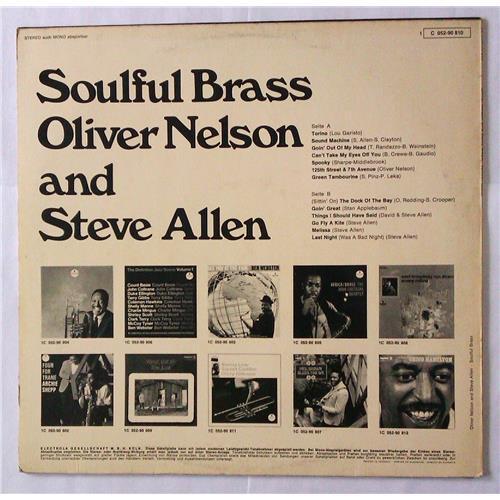 Картинка  Виниловые пластинки  Oliver Nelson And Steve Allen – Soulful Brass / 1 C 052-90 810 в  Vinyl Play магазин LP и CD   04602 1