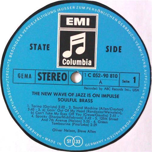 Картинка  Виниловые пластинки  Oliver Nelson And Steve Allen – Soulful Brass / 1 C 052-90 810 в  Vinyl Play магазин LP и CD   04602 2