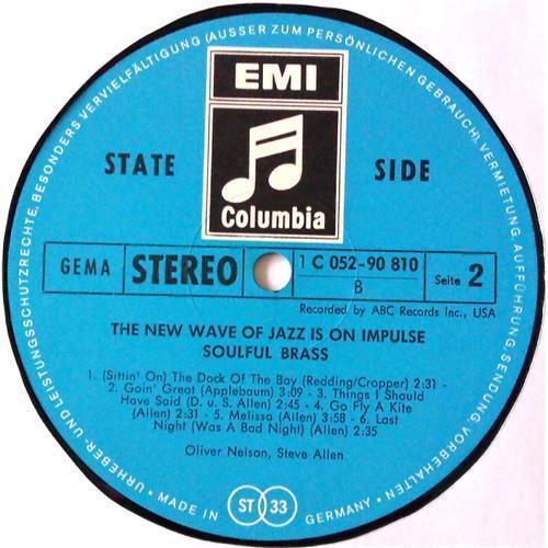 Картинка  Виниловые пластинки  Oliver Nelson And Steve Allen – Soulful Brass / 1 C 052-90 810 в  Vinyl Play магазин LP и CD   04602 3